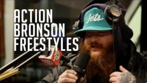 Video: Action Bronson - Funkmaster Flex Freestyle